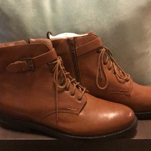NEW, no tags. Seychelles leather booties.